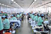 текстильная фабрика — Стоковое фото