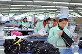 Fábrica textil — Foto de Stock