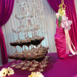 Wedding champagne tower — Foto de Stock