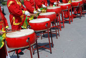 Chinese percussion — Stock Photo