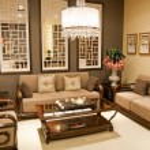 Chinese style furniture — Stock Photo