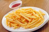 Franse frietjes — Stockfoto