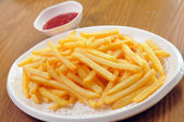 French fries — 图库照片