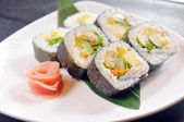 Japanese cuisine — Stock Photo