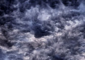 Darks clouds texture — Stock Photo