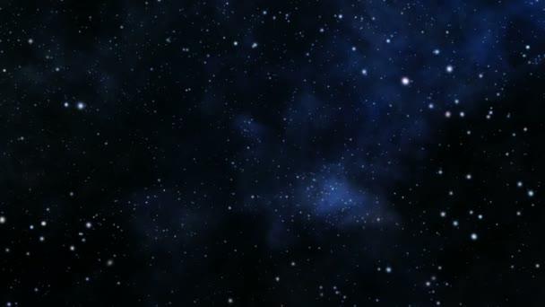 Space voyage seamless loop — Vidéo