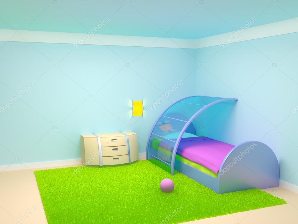 Futuristiska barn sovrum — stockfotografi © ilterriorm #21127507
