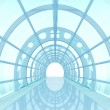 Stock Photo: Tunnel futuristic