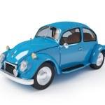 Retro blue car — Stock Photo #34545221