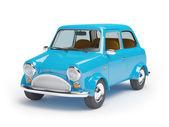 Mini carro retrô — Fotografia Stock
