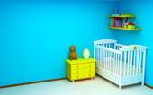 Baby room — Stock Photo