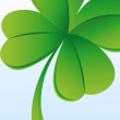 Green clover — Stock Photo #40214043