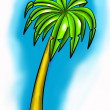 Palm tree — Stock Photo #40215385