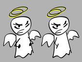邪恶的天使 — 图库照片