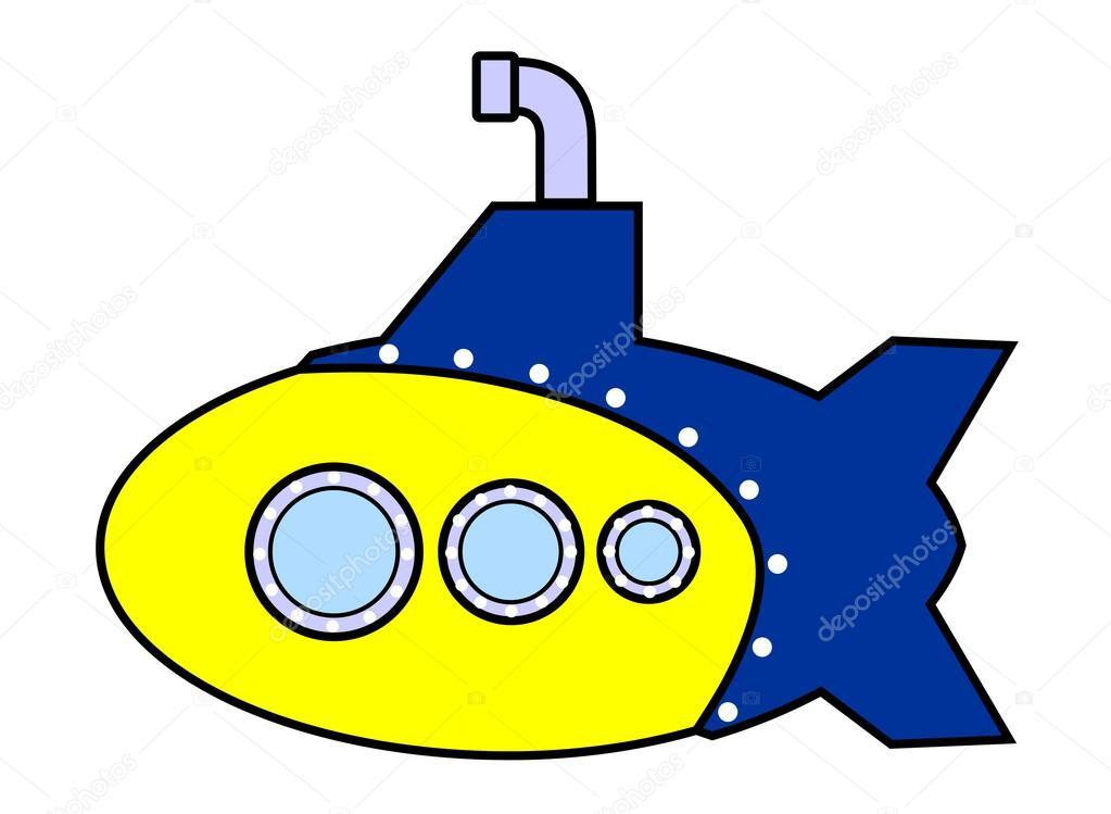 симпсон на подводной лодке