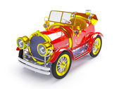 1910 retro car — Stock Photo