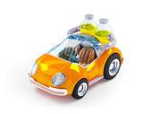 Orange soda car — Stock Photo