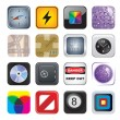 Apps icon set two — Stockvector #12684997