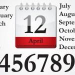 Calendar — Stock Vector #21261155