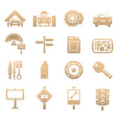 Cars icons — Stock Photo