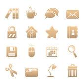 Office-symbole — Stockfoto