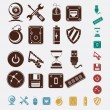 Stock Vector: Computer icons set