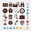 Icons for internet - Stock Vector