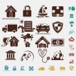 Insurance Icons — Stock Vector #25977639