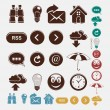 Vector set of icons — Stock Vector #25977729