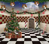 Wonderland serie - kerstmis in wonderland — Stockfoto