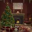 Christmas room — Stock Photo #13495116