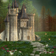 Fairy tale castle — Stockfoto