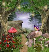 волшебный путь — Стоковое фото