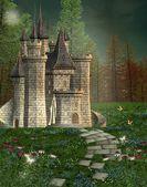 Château de conte de fées — Photo