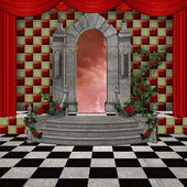 Wonderland series - Wonderland stage — Stock Photo
