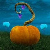 Pumpkin - illustration — Stock Photo