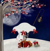 Weihnachten-pilze — Stockfoto