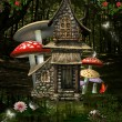 Stock Photo: Fantasy house