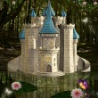 Enchanted castle — Foto de stock #27028435