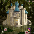 Enchanted castle — Stock Photo