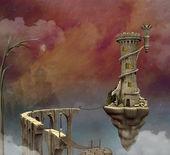 Fantasiewereld — Stockfoto