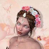Královna růží — Stock fotografie