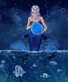 Zodiac Pisces — Stock Photo