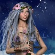 Stock Photo: Zodiac series - Libra