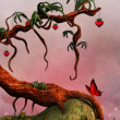 Tree of love — Stock Photo