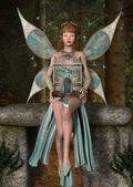 Free butterflies — Stock Photo