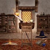 The wizard room — Stock Photo