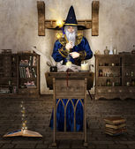 The wizard — Stock Photo
