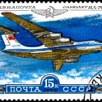 Airplane IL-76 — Stock Photo #13214197