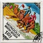 Bactrian Camel Races — Stock Photo